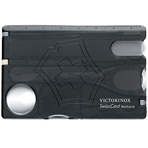Victorinox V07240.T3 Carta Svizzera Nailcare, Negro, M
