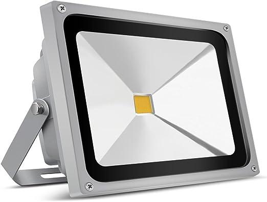 Auralum IP65 - Proyector de luz para exterior (impermeable, 50 W ...