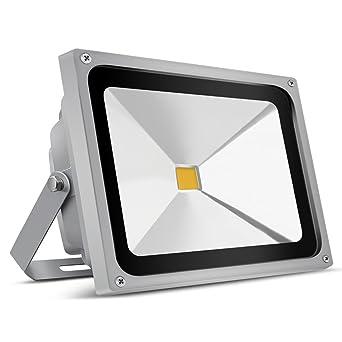 Led Outdoor Flutlicht 50w Scheinwerfer Beleuchtung Außenstrahler & Flutlichter Außenstrahler Ip65 Warm Weiß