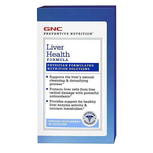 photo Wallpaper of GNC-GNC Preventive Nutrition Liver Health Formula-brown