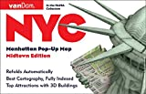 Pop-Up NYC Map by VanDam - City Street Map of New York City, New York - Laminated folding pocket size city travel and subway map, 2016 Edition (Pop-Up Map)