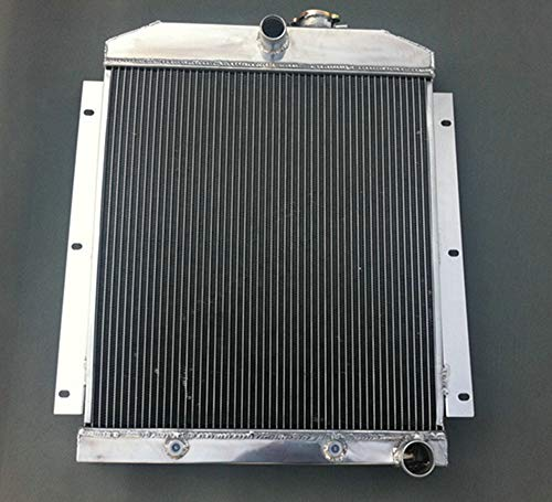 (3 ROW Aluminum Radiator for Chevy Pickup Truck 1947-1954 48 49 50 51 52 53)