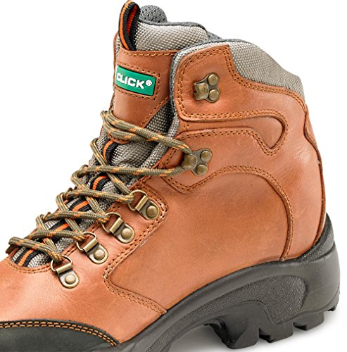 Click Footwear Pur Boot S3 Brown 10/44