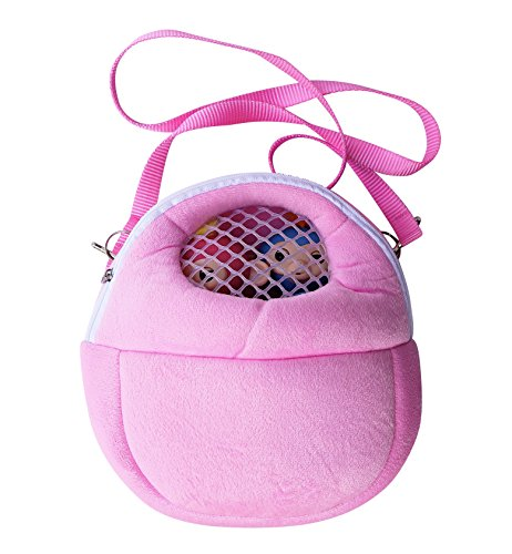 Monkey Case   Toy Compatible Carrying Case With Mesh Window   Fits All Kinds Of Toys   Interactive Baby Finger Monkey Compatible Case  Pink