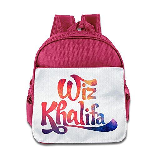 (SAXON13 Kid's Playful Pink Toys 150g Wiz WK Khalifa Logo Bag)