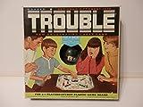Vintage 1965 Kohner Pop-o-matic Trouble Game