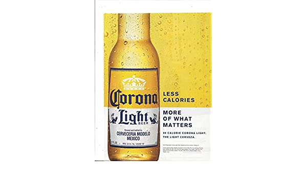Print ad for 2015 corona light beer more of what matters at amazons print ad for 2015 corona light beer more of what matters at amazons entertainment collectibles store aloadofball Choice Image