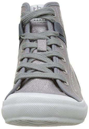 TBS Technisynthese Oliviah R7, Zapatos de Cordones Derby para Mujer gris