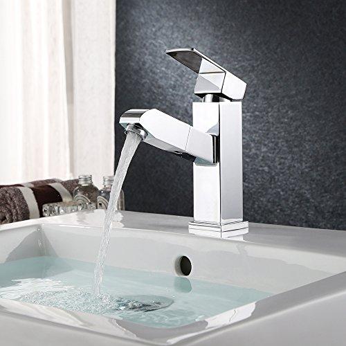 Homfa Modern Single Handle Bathroom, Kitchen Br...