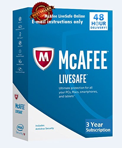McAfee LiveSafe Unlimited licenses Download