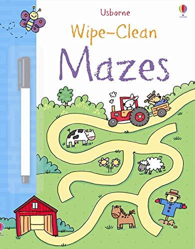 Mazes (Wipe-clean Books)