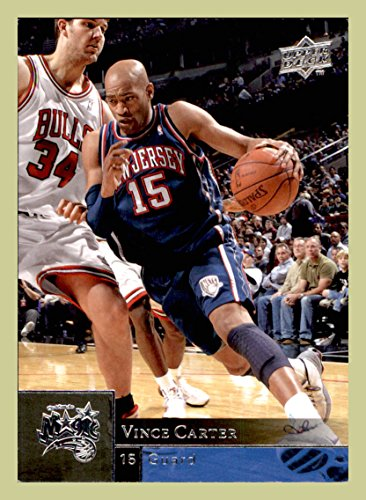 2009-10 Upper Deck #115 Vince Carter NEW JERSEY NETS NORTH CAROLINA TAR HEELS (ast) (Vince Carter Nets Jersey)