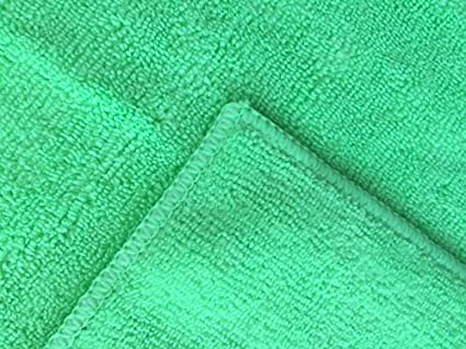 Microfibra Paños de limpieza – Juego de 12 Grande, Premium suave 16 x 16 lavar