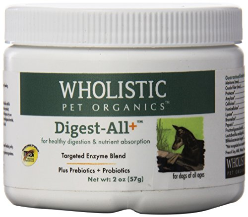 Wholistic Pet Organics Digest-All Plus Supplement, 2 oz by Wholistic Pet Organics