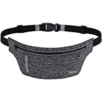 Running Belt Zipper Pockets Water Resistant Reflective...