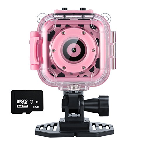 Ourlife Ourlife Kids Waterproof Camera with Video Recorder Includes 8GB Memory Card (Pink) price tips cheap