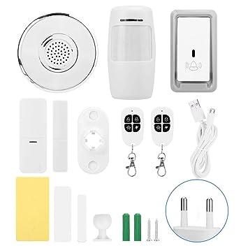 Kit de alarma de seguridad para el hogar multifunción con ...