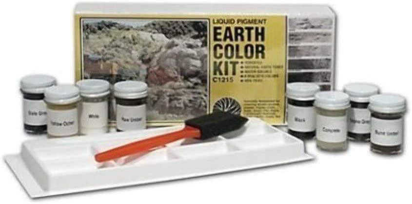 Woodland Scenics Earth Color Kit by Woodland Scenics