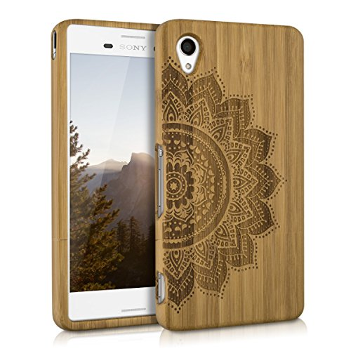 kwmobile-natural-wood-case-with-design-half-flower-for-the-sony-xperia-m4-aqua-in-bamboo-light-brown