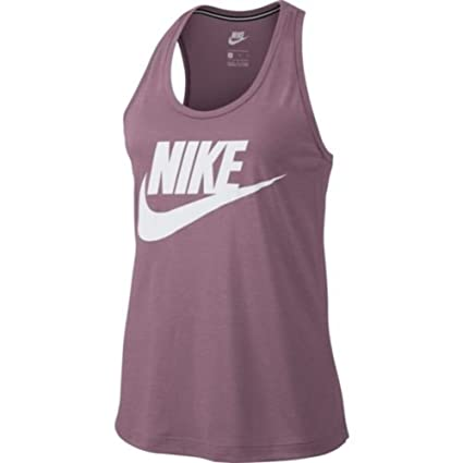 a34879b02c Image Unavailable. Image not available for. Color: Nike Women's Sportswear  Essential Tank Top Light Pink- Small