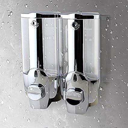 Surenhap Sistema dispensador de Ducha de Diseñ o Modular de Jabó n/Champú /Loció n Curves Luxury, 1 pcs