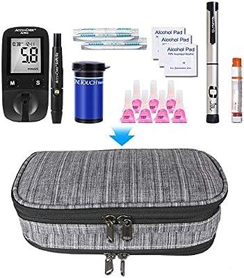 YOUSHARES Insulina Bolsa Para Viaje - Diabéticos Estuche Para ...