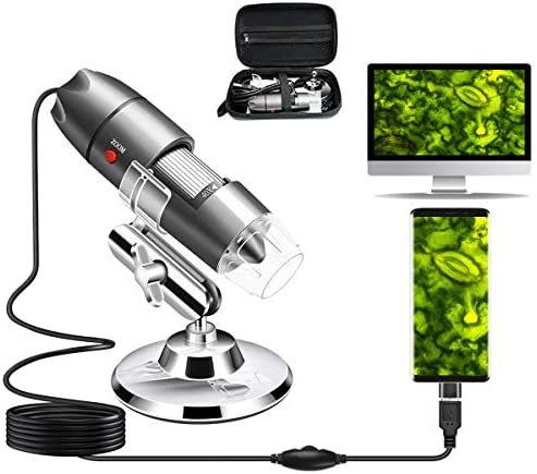 USB Microscope Camera 40X to 1000X, Cain