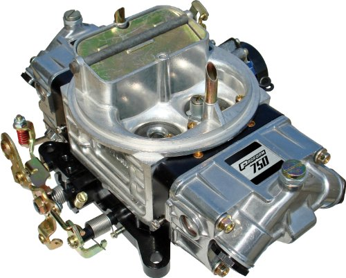 (Proform 67212 Street Series 650 CFM Polished Aluminum Dual Inlet 4-Barrel Square Bore Mechanical Secondary Carburetor with Electric Choke)