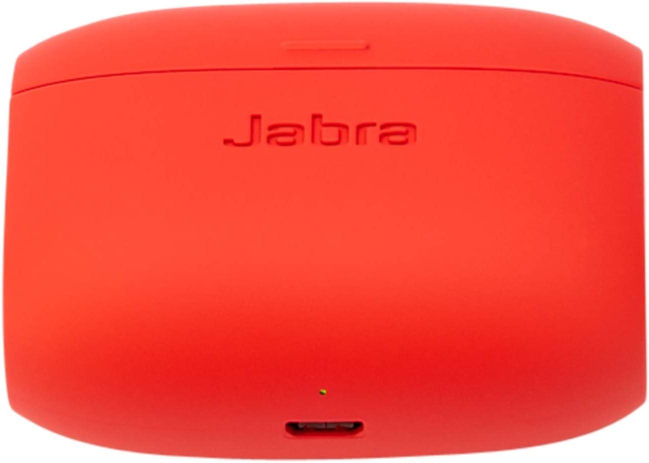 Amazon Com Jabra Elite Active 65t Replacement Charging Case Red 100 68600001 00 Electronics