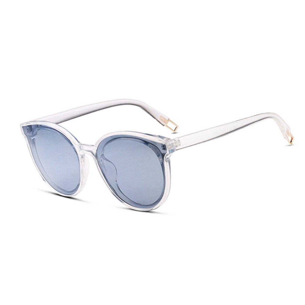 25a03e127e0e8e WYYY lunettes de soleil Mme Classique Rétro Cadre Rond Transparent Lumière  Polarisée Protection Contre Le Soleil Décoration Anti-UVA Protection UV  100% ...