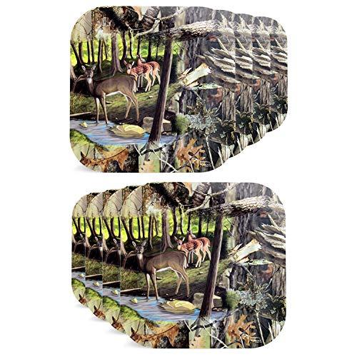 Deer Hunting Dessert Plates (7