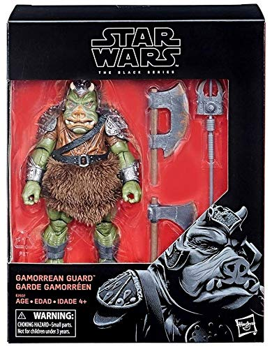 DYS Star W. The Black Series Gamorrean Guard