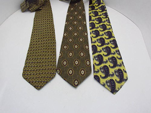 3-short-quality-neck-ties-a8a72-club-room-ketch-calvin-klein
