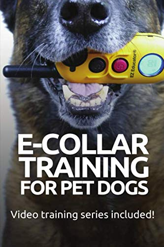 E-COLLAR TRAINING for Pet Dogs: The only resource you'll need to train your dog with the aid of an electric training collar (Dog Training for Pet Dogs) (Shock Video)
