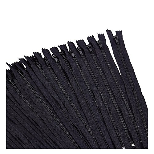 Why Should You Buy Nylon Coil Zipper - 100-Pack 9-inch Zippers, Non-Separating All-Purpose Zippers f...