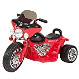 Rockin' Rollers Mini Three Wheel Police Chopper, Red