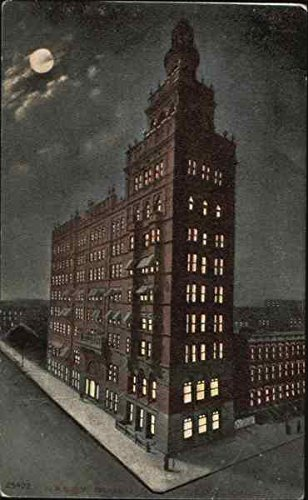 - Nasby Building Toledo, Ohio Original Vintage Postcard