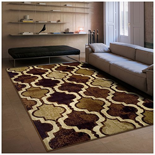 Superior Modern Viking Collection Area Rug, 10mm Pile Height
