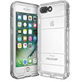 Pelican Marine Waterproof iPhone 7 Plus Case (White/Clear)