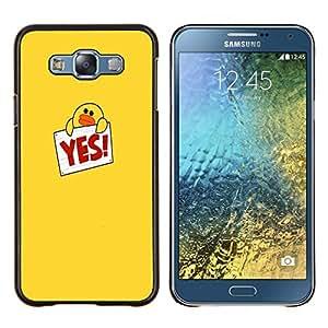 Dragon Case - FOR Samsung Galaxy E7 E7000 - the feeling of missing? - Caja protectora de pl??stico duro de la cubierta Dise?¡Ào Slim Fit
