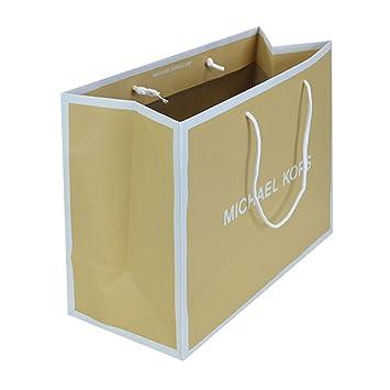 ab5d1613801d Amazon.com  Michael Kors Shopping Bag Tan White  Health   Personal Care
