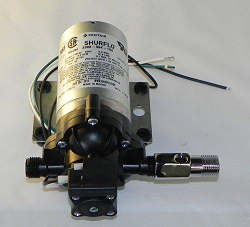 shurflo 2088 594 154 pump with free pressure gauge adapter 1 2 builder authority. Black Bedroom Furniture Sets. Home Design Ideas