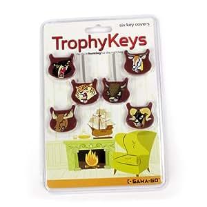 Gama-Go Trophy Keys, Set of 6