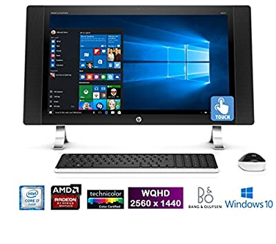 "HP ENVY 27-p011, 27"" IPS Quad HD 2560 x1440 Touchscreen, Core i7, All-in-One PC (Certified Refurbished)"