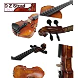 """D Z Strad viola Model 120 with Strings, Case, Bow and Rosin-16"""" (16"""")"""