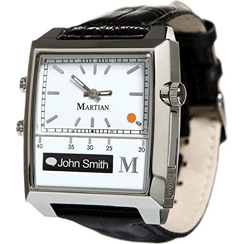 Martian Passport Smartwatches with Amazon Alexa – Analog + Voice (B00FI1678A)