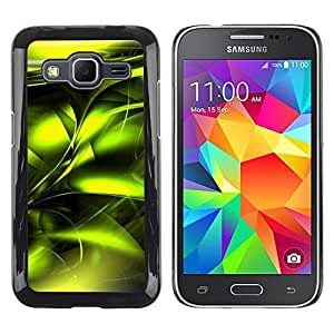 iKiki Tech / Estuche rígido - Poison Vibrant Metallic Black - Samsung Galaxy Core Prime SM-G360