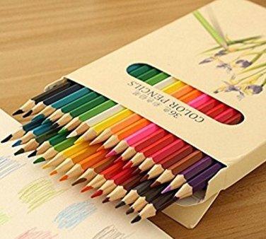 36色鉛筆