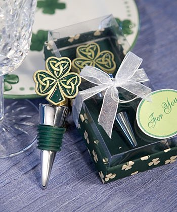 Shamrock Trinity Love Knot Bottle Stoppers (Set of 72) by Fashioncraft (Image #1)