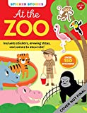 Sticker Stories: At the Zoo: Includes stickers, drawing steps, and scenes to decorate